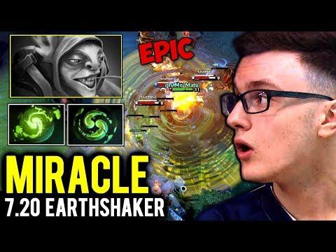 MIRACLE Earthshaker 7.20 EPIC Echo Slam - Instant Delete Meepo