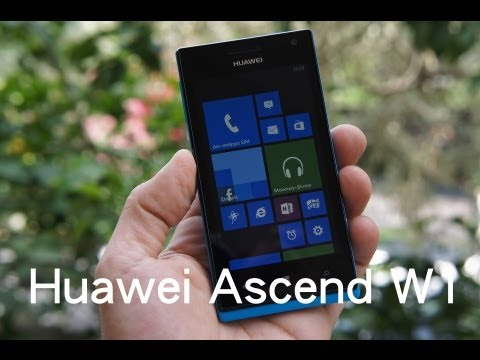 Huawei Ascend W1 hands-on (Greek)