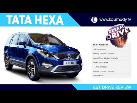 Tata Hexa Full Test Drive Review | Dream Drive