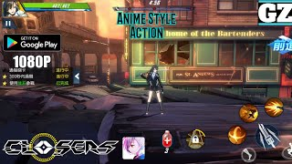 CLOSERS M (CH) - Anime Style Action Mobile Game - Android Gameplay