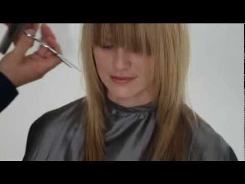 Короткая стрижка из длинных волос без стрижки