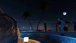 3DXChat v2.0: Night on the Island of Love