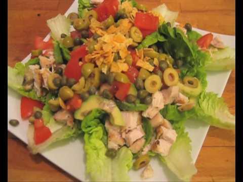 receta de ensalada mexicana de pollo
