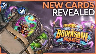 3 new Hearthstone Boomsday Project cards have been revealed
