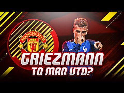 Antoine Griezmann Transfer to Manchester United in FIFA! | FIFA 17 Ultimate Team
