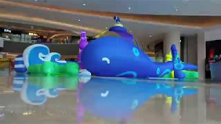 inflatable artistic 2 direction how to decorate wedding stage