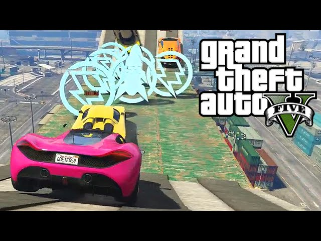 CAR RACE INSANITY (GTA 5 w/ Yogscast)