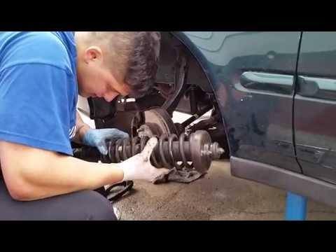 2000 Honda Civic Front Strut Removal