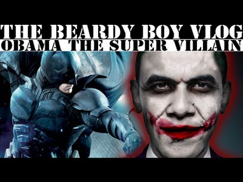 Obama Is A Super Villain