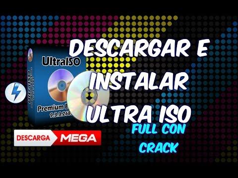 Como descargar e Instalar UltraISO PRO  Para Windows 7. 8 y 10 FULL con Crack y Serial  Español 2016