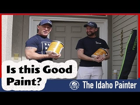 Good Paint for Walls.  Paint Review 2018.