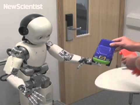 Robot learns like a toddler