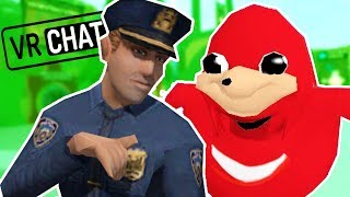 THE POLICE RAID VRCHAT! Swatting Meme House Parties - VRChat Funny Moments w/ Ctop HTC Vive Gameplay