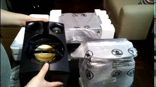UNBOXING MINICOMPONENTE PHILIPS FX20