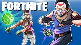 FORTNITE BR - Boogie Bombs, Traps, Fails And Dancing! (Funny Moments)