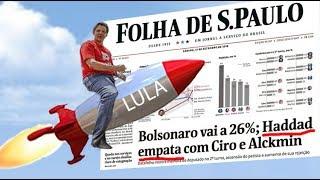 Haddad/Lula sobem mais rápido que o esperado