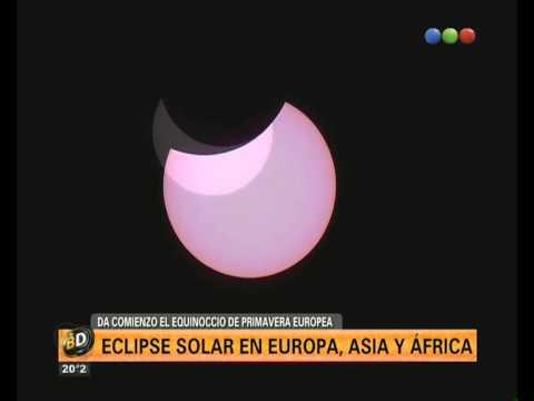 Eclipse solar - Telefe Noticias