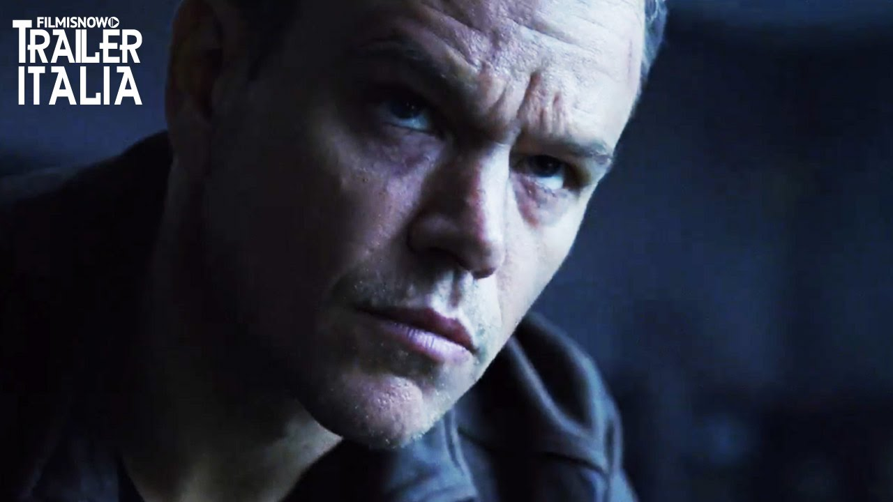 Matt Damon è JASON BOURNE | Trailer Italiano Ufficiale [HD]