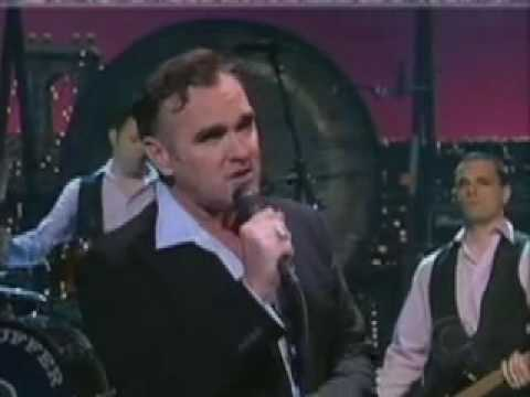 "Morrissey David Letterman ""That's How People Grow Up"""