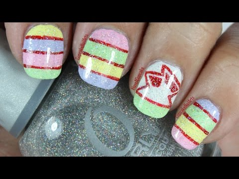 Candy Inspired Nail Art *Smarties*