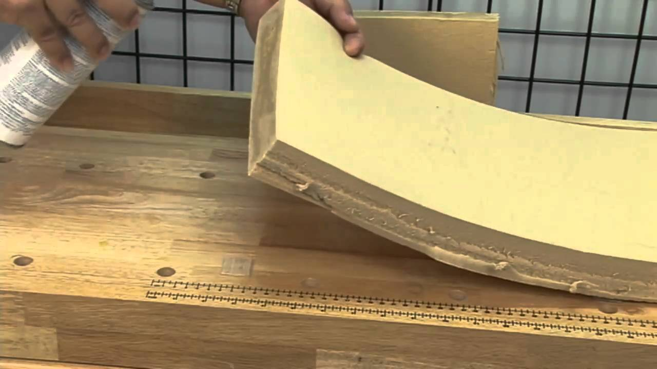 Gluing Fabric To Wood Furniture