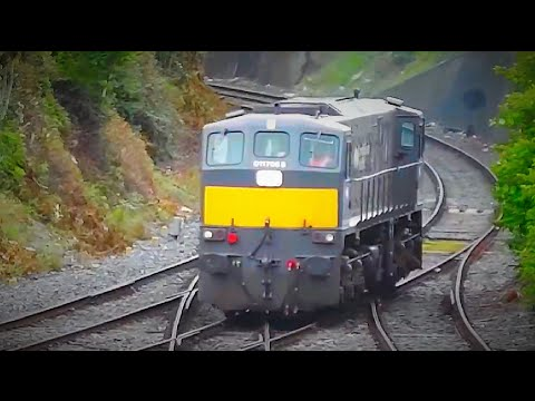 Passenger, Wagon / Stock Transfers, PWD, LE, & IWT Workings @ Glasnevin Junction, Dublin