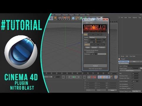 #Tutorial Baixar e Instalar Plugin NitroBlast/Cinema4D