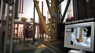 Oil and Gas - 3D Animation - Remote Monitoring