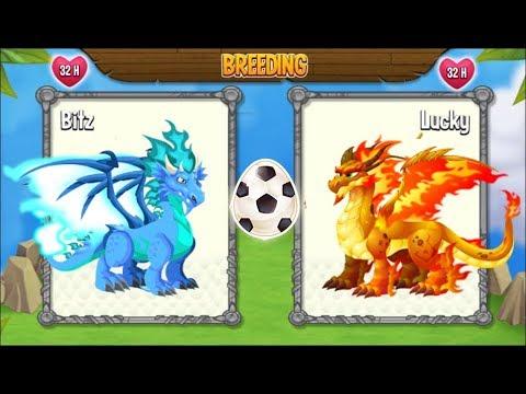 Dragon City: Cool Fire Dragon vs Double Flame Dragon [EXCLUSIVE BREEDING]