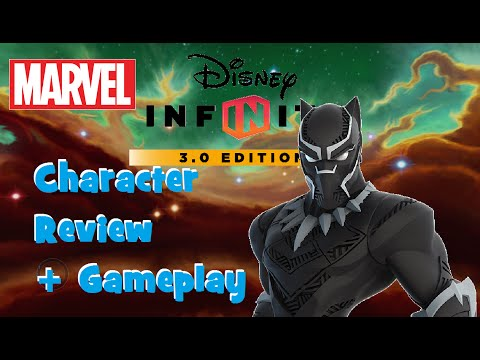 Disney Infinity 3.0 Black Panther Character Review + Gameplay