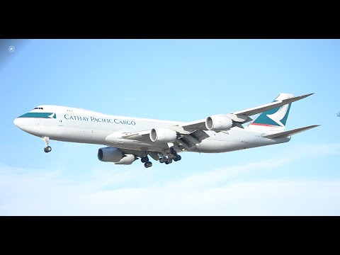 Cathay Pacific Cargo Boeing 747-800F [B-LJH] Landing At LAX