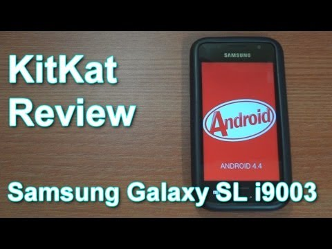 Review: KitKat Android 4.4 (CM11) on the Samsung Galaxy SL i9003