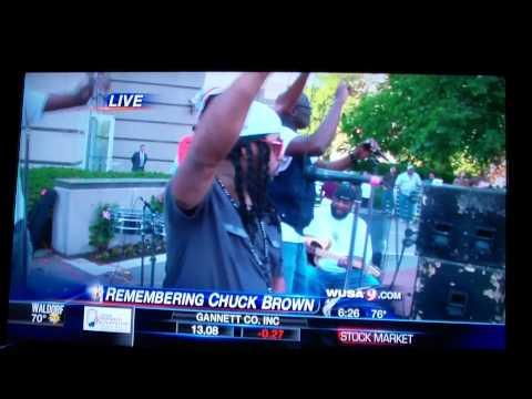 Chuck Brown Tribute live on WUSA 9 News (CBS) - Backyard Band
