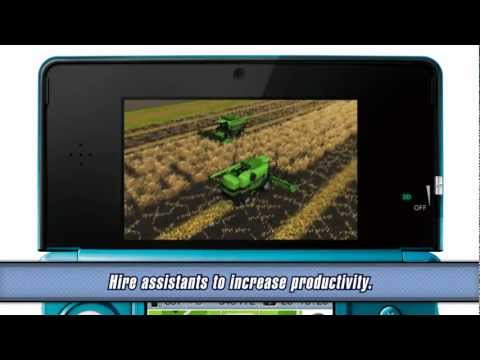 Farming Simulator 2012 3D - Trailer 3DS