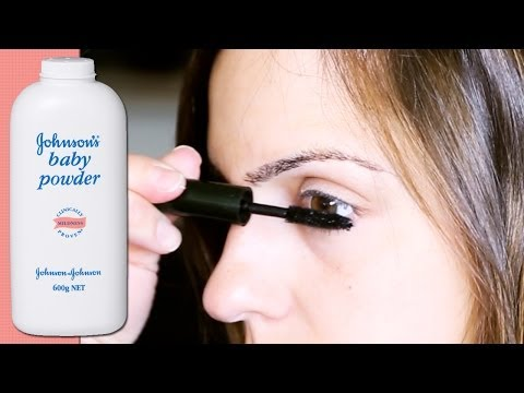 BABY POWDER BEAUTY TIPS   Tip Tuesday #35