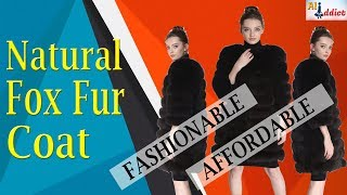 #AliExpress Natural Fox Fur Coat With Fur Vest Review For Womens  #AliAddict