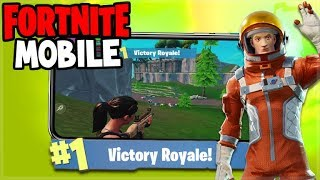 Fortnite: Battle Royale Mobile! - SQUAD Victorys! - iOS Fortnite (Fortnite Mobile Gameplay)