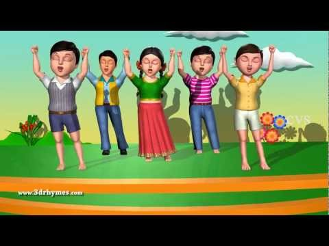 If You are Happy And You Know it - 3D Animation English Nursery Rhyme Song for children
