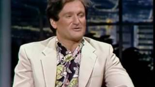 Robin Williams on Carson 1982