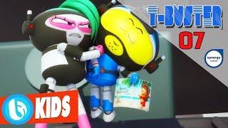 Phim Hoạt Hình Robot Người Máy T-Buster tập 07 | Hoạt Hình 3D Hay 2017