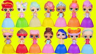 LOL Surprise Dolls Custom Lil Sisters Dress Up in Wrong Heads