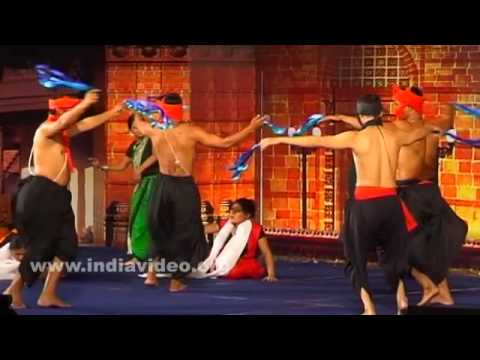 A fusion of Manipuri dances