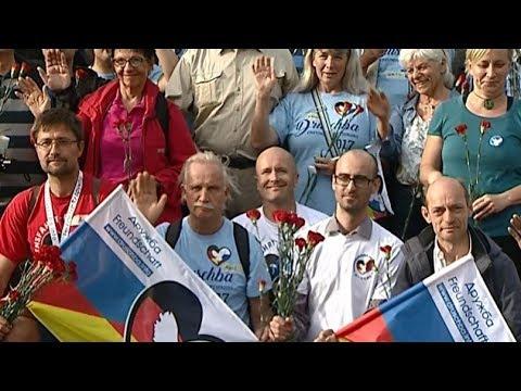 Участники автопробега Берлин-Москва прибыли в Калининград