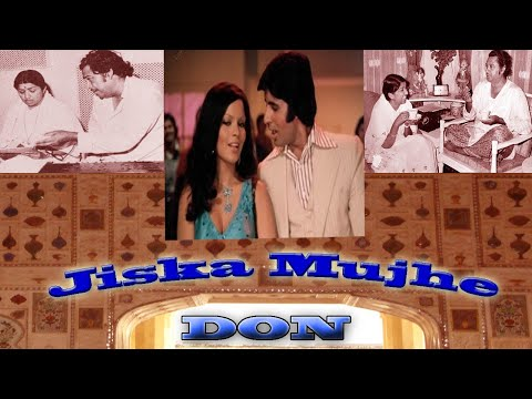 Jiska Mujhe Tha Intezar (with english subtitles) - (Don 1978...