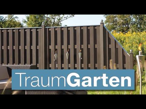 Brügmann TraumGarten - Montage eines WPC-Zauns der Serie WPC Jumbo