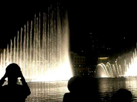time to say goodbye ....burj khalifa dubai fountain