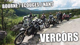Vercors à moto - Bourne, écouges, Nant en BMW F800GS