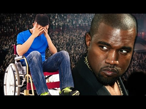 Did Kanye West Yell at a Handicapped Person?