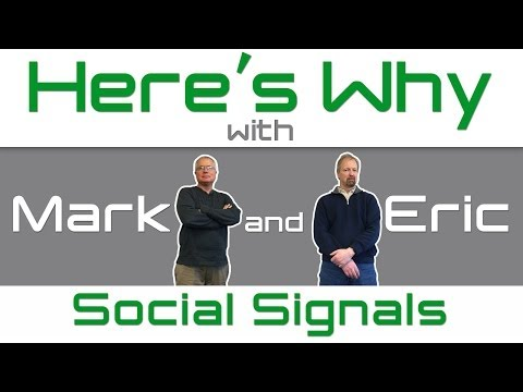 Why Isn't Google Using Social Signals for SEO? - Here's Why with Mark & Eric