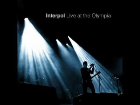 Interpol - Live at the Olympia
